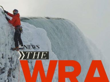 Watch:  Security for Super Bowl Balls; Pilot Locked Out of Cockpit; Man Scales Frozen Wall of Niagara Falls.