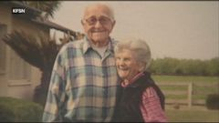 VIDEO: Floyd and Violet Hartwig passed away five hours apart.