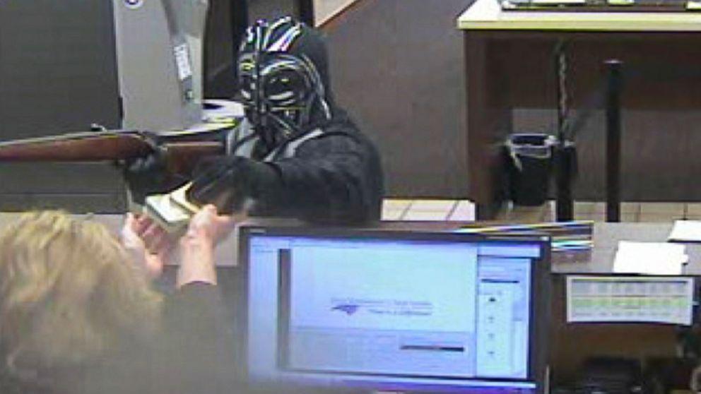Darth Vader Masked Man Pulls Off North Carolina Bank
