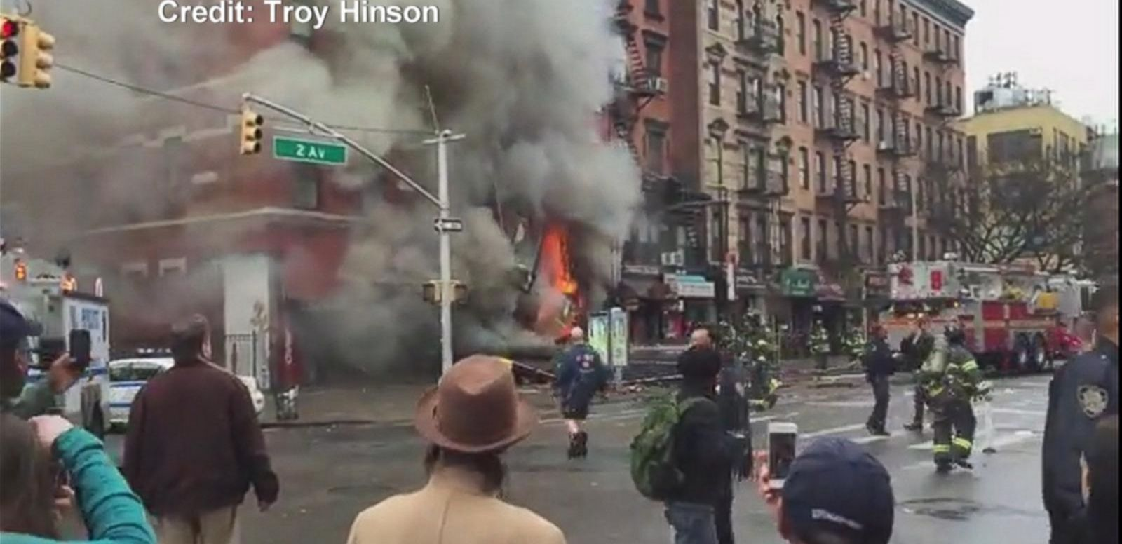 VIDEO: New York City Building Explosion Captured by Eyewitness