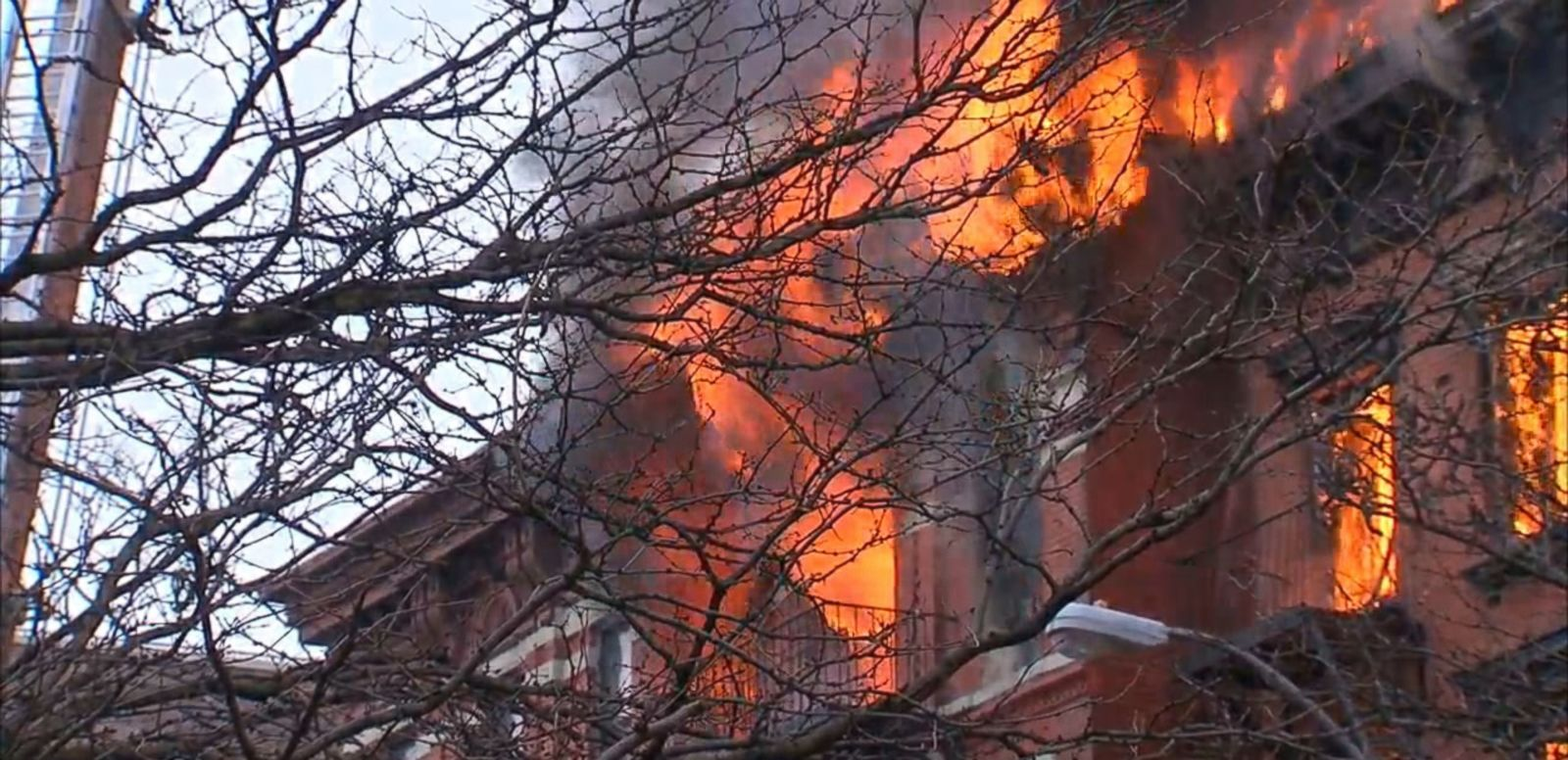 VIDEO: Onlookers say the face of the East Village building blew off after a possible gas explosion.