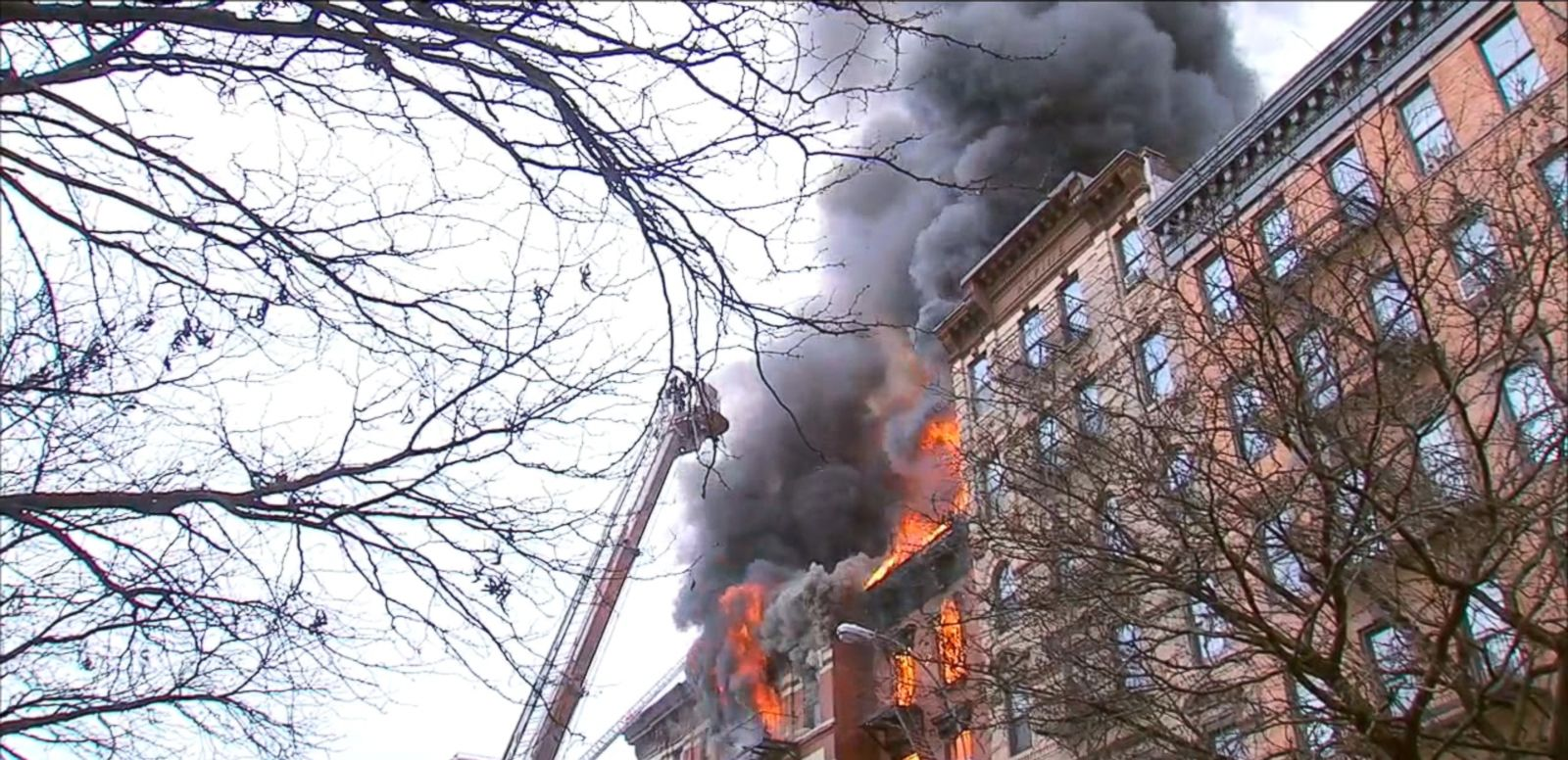 VIDEO: An apartment building in Manhattan's East Village has partially collapsed