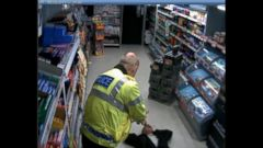VIDEO: Wiltshire Police Officer Tases Knife-Wielding Robber