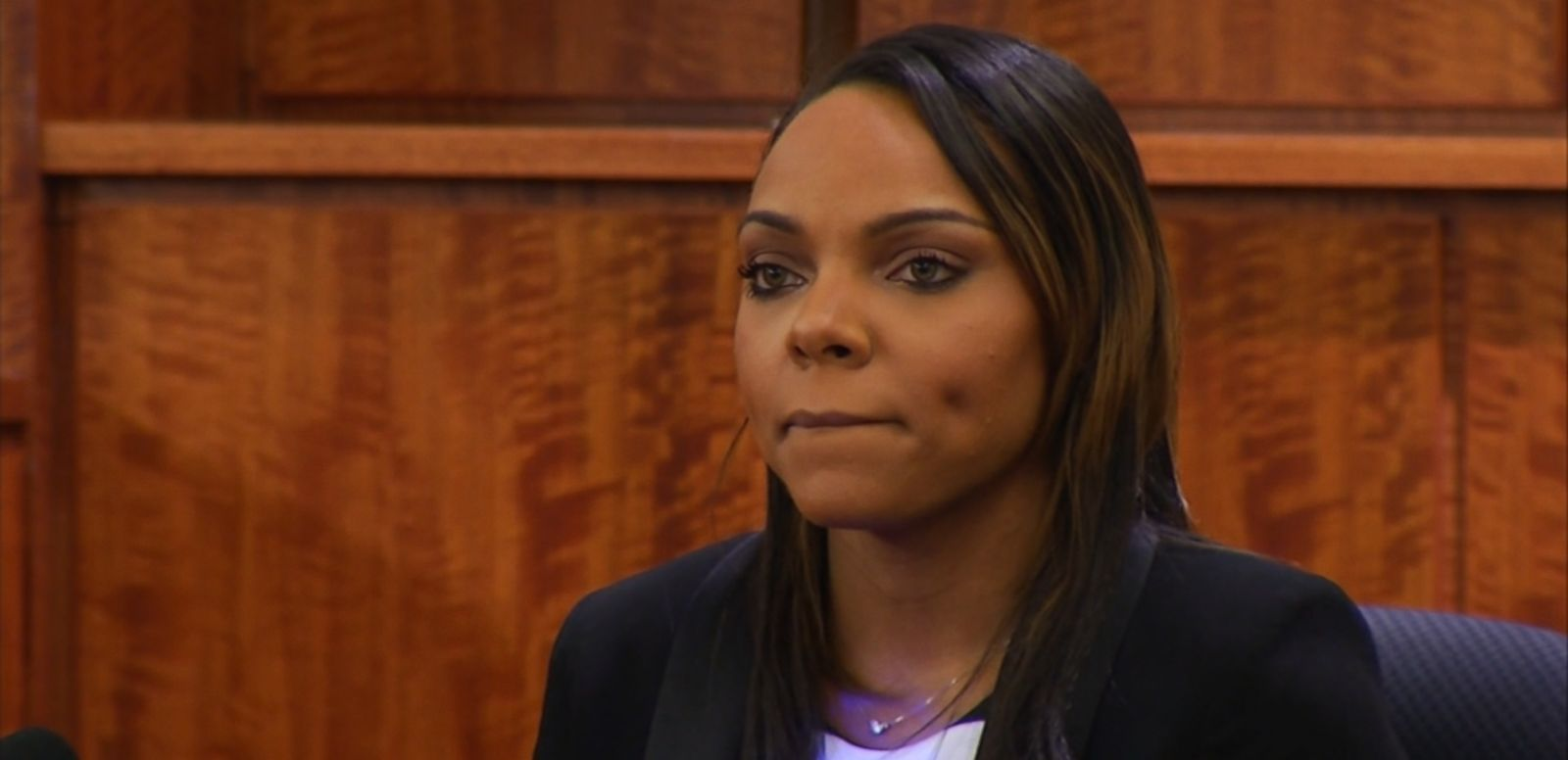 VIDEO: Shayanna Jenkins testifies that Aaron Hernandez told her to remove a box from the home they shared on the afternoon Odin Lloyd was killed.