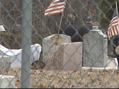 Gravestone Falls on Man in Pennsylvania