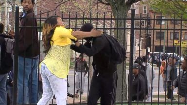 VIDEO: Footage of the womans demonstration of tough love is gaining national attention.