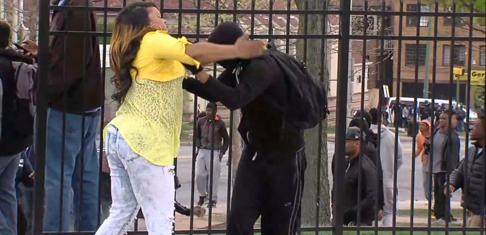 VIDEO: Footage of the woman's demonstration of tough love is gaining national attention.