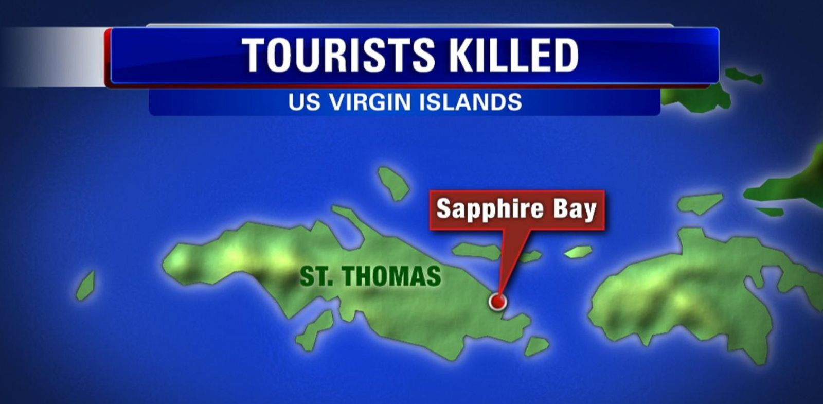 VIDEO: The bodies were discovered in the couple's rental home, located in the Sapphire Bay area of St. Thomas.