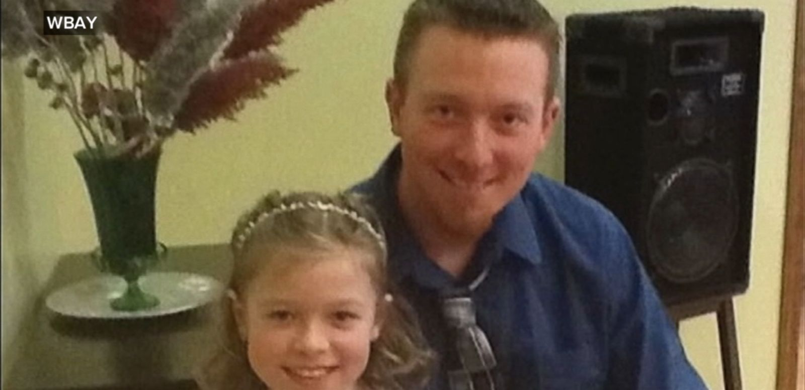 VIDEO: Jonathan Stoffel and his 11-year-old daughter, Olivia, were shot while pedaling their bikes across a bridge.