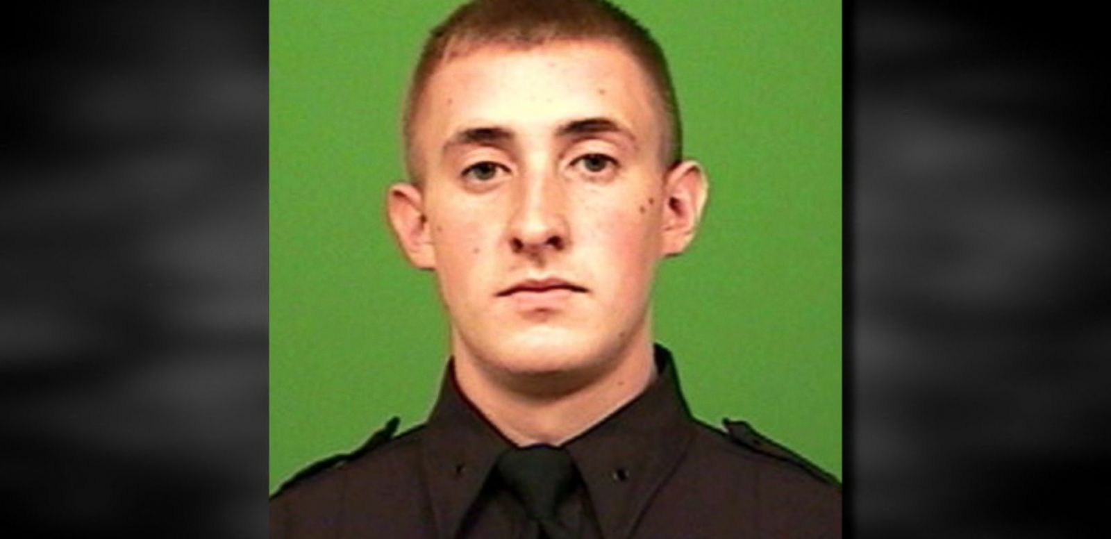 VIDEO: Brian Moore, 25, was on duty as part of a detail targeting illegal guns when he was shot.