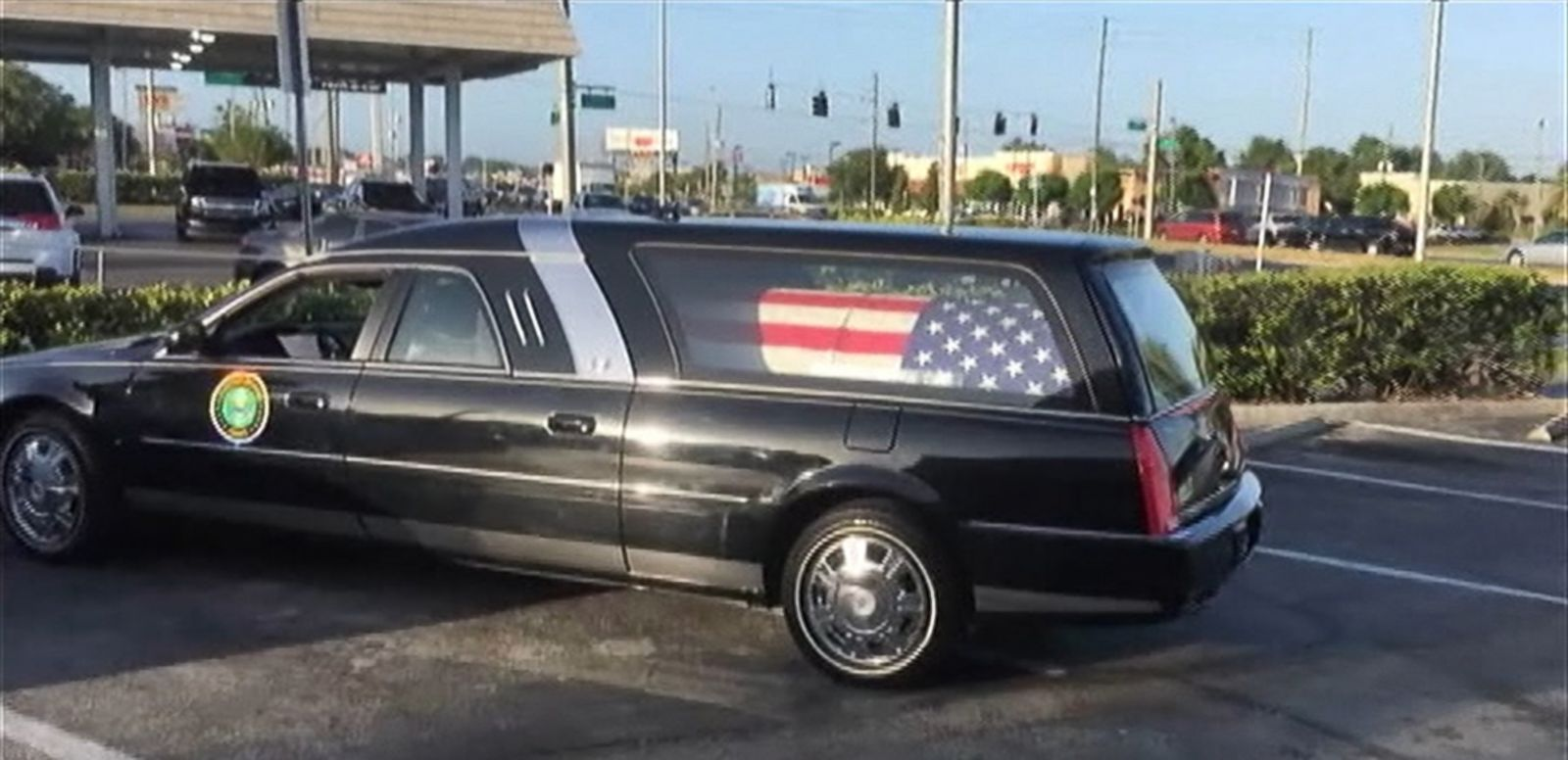 VIDEO: A hearse driver and a funeral director with Veterans Funeral Care in Clearwater, Florida lost their jobs after they stopped at the doughnut shop with the flag-draped casket of an Army veteran in the back.