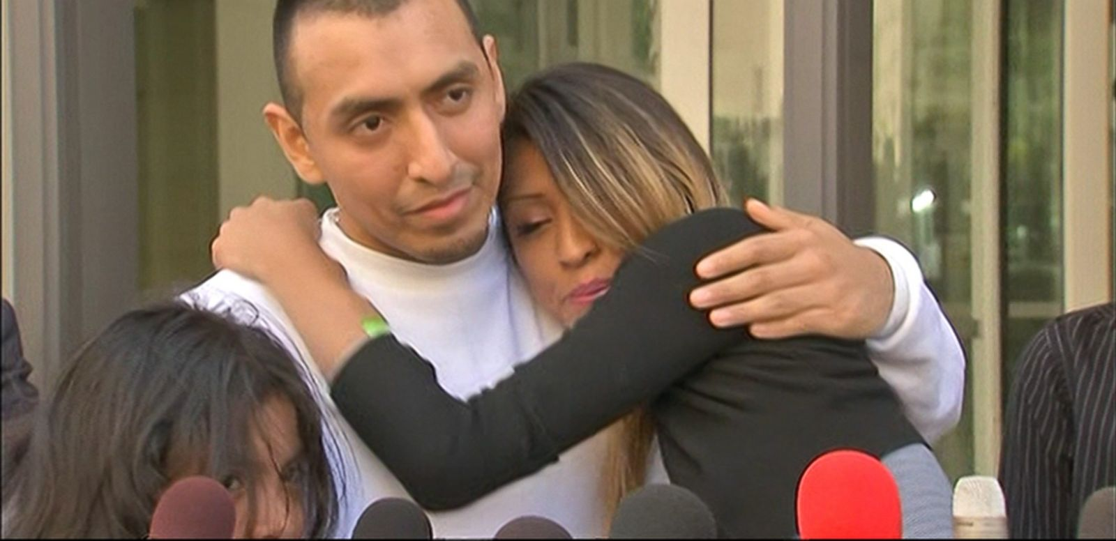 VIDEO: Argenis Longoria was scheduled for deportation to Mexico after being imprisoned on a burglary conviction.