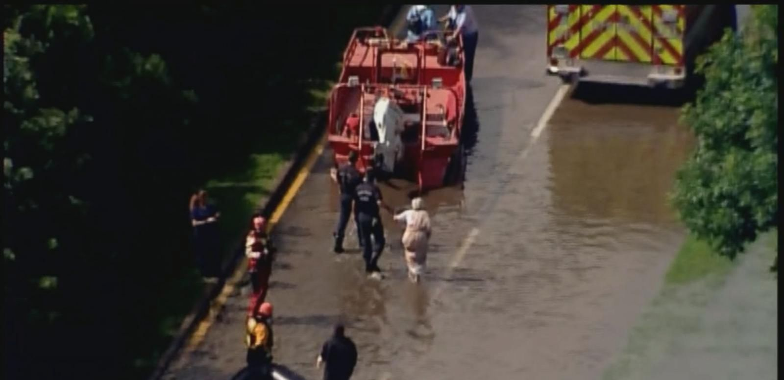 VIDEO: Three People Killed by Raging Flood Waters in Houston