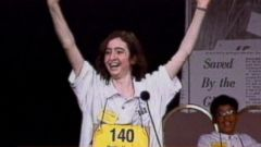 VIDEO: Past winners of the Scripps National Spelling Bee have their own way of celebrating.