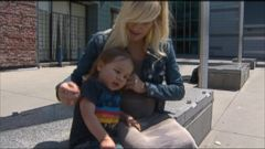 VIDEO: Singer-songwriter Sarah Blackwood of Walk the Earth says she was removed from a United Airlines flight because her nearly 2-year-old son was squirming in her lap.