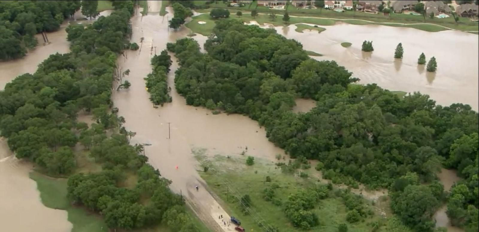 VIDEO: An already swamped Texas gets hit with another round of dousing downpours triggering more devastating flooding. ABC News' Brandi Hitt reports.