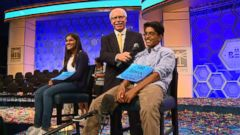 VIDEO: Watch these kid spelling whizzes get ready for their big night competing in the Scripps National Spelling Bee Championship Finals.