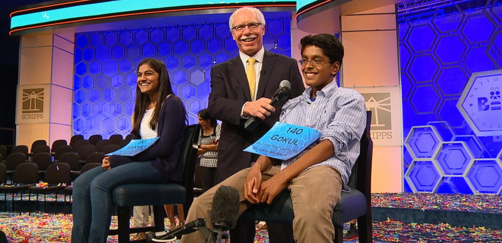 VIDEO: Watch these kid spelling whizzes get ready for their big night competing in the Scripps' National Spelling Bee Championship Finals.