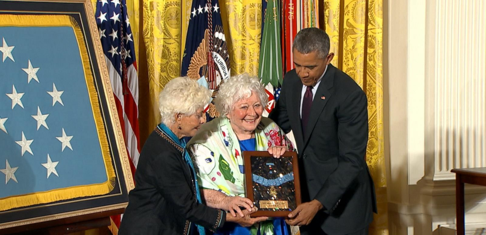 Obama Awards Medals of Honor to World War I Heroes