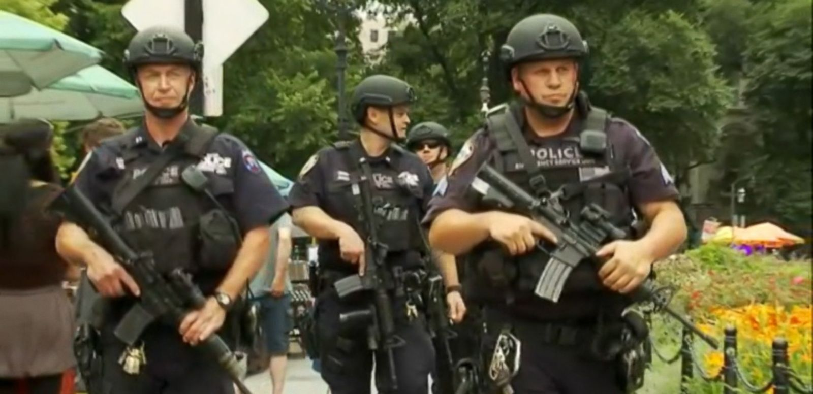 VIDEO: The Department of Homeland Security and the FBI have issued a bulletin to authorities nationwide, warning that ISIS sympathizers may try to stage attacks and police are responding by beefing up security measures.