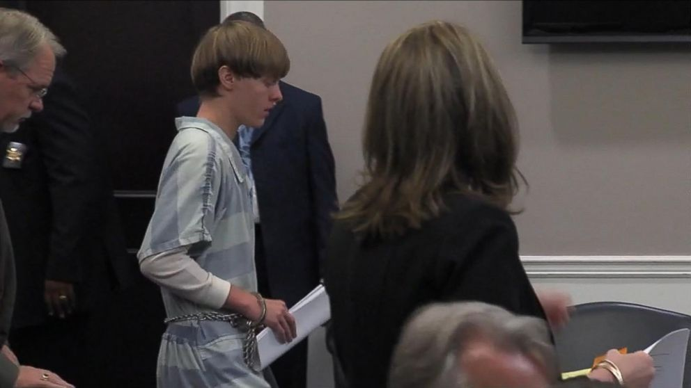 Dylann Roof Appears in Court; Gag Order Extended Video ...