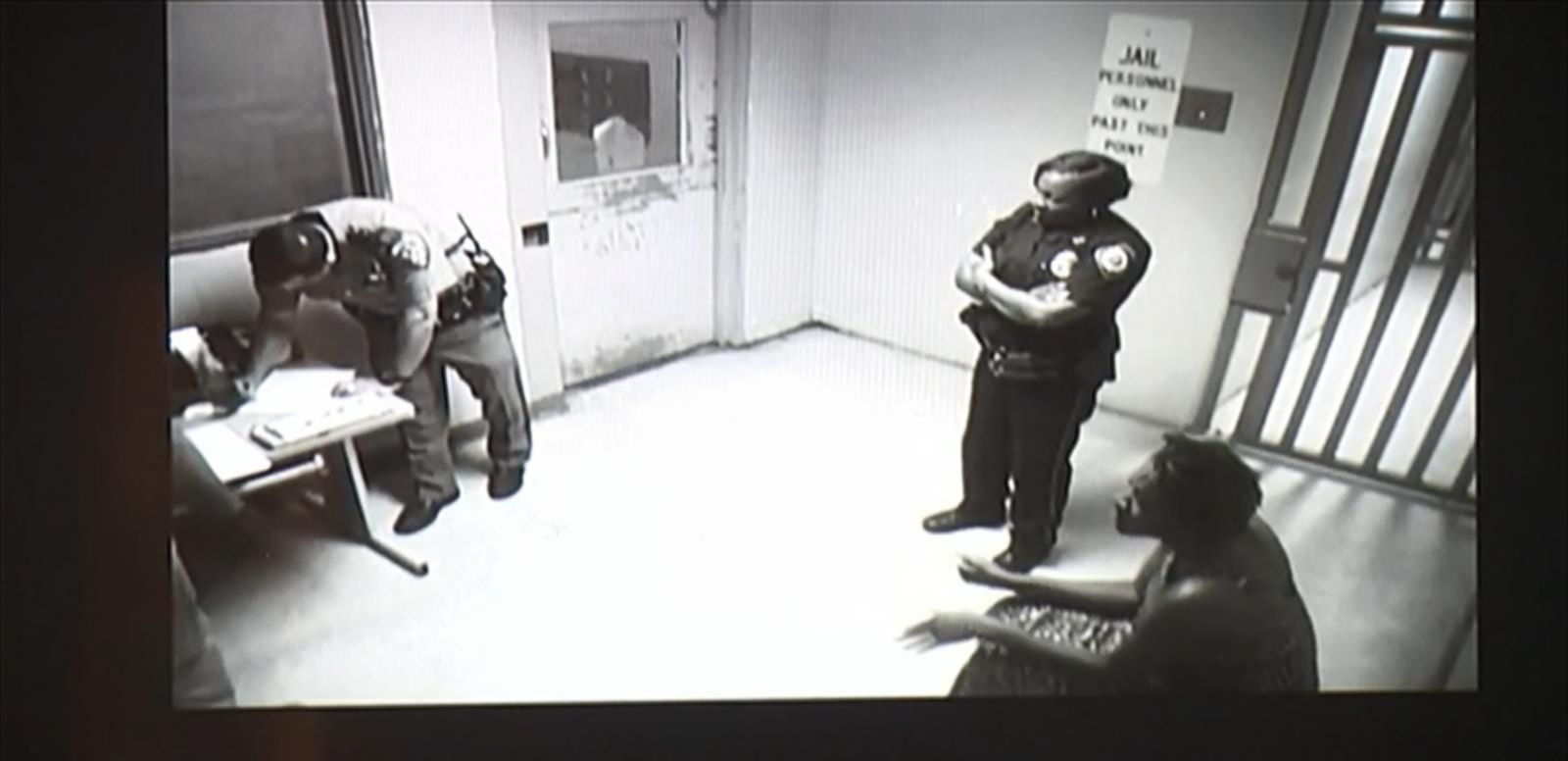 VIDEO: The new footage shows Bland's intake and booking at the Waller County jail after her arrest during a traffic stop.
