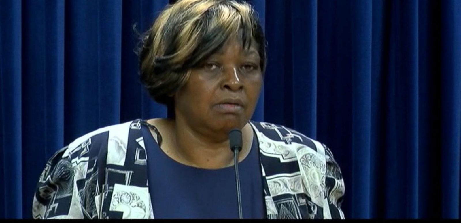 VIDEO: Audrey DuBose expressed her gratitude after a murder indictment was announced against University of Cincinnati police officer Ray Tensing.