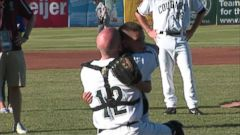 VIDEO: Military Dad Surprises Son at Baseball Game
