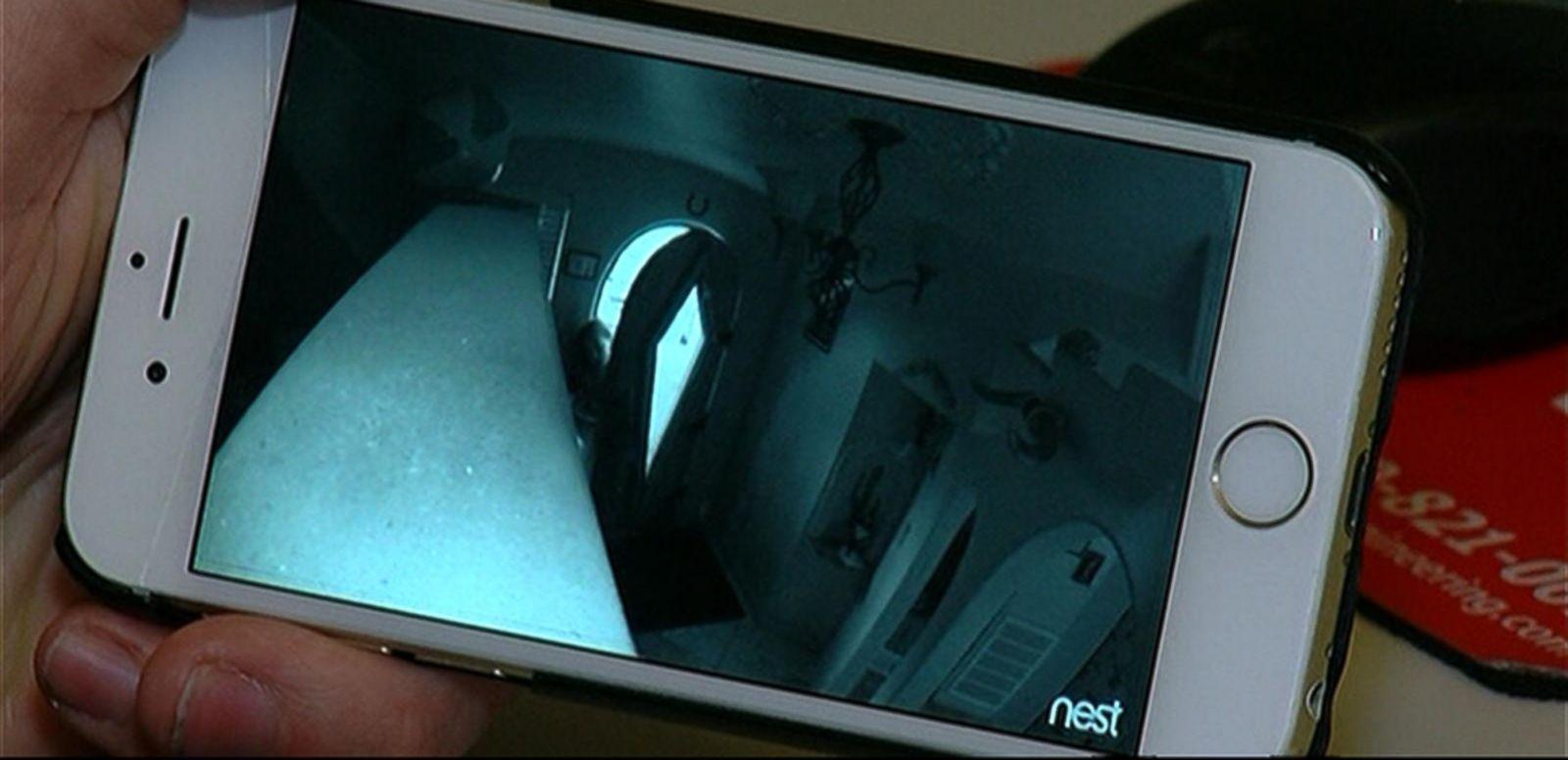VIDEO: Man Catches Burglar Through iPhone App