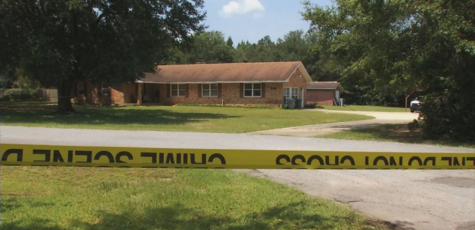 """VIDEO: Investigators in Florida believe the deaths of a woman and her two adult sons were part of a """"ritualistic killing."""""""