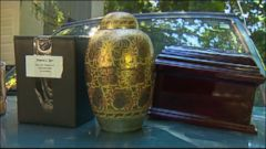 VIDEO: Andrea Davidson bought the 1997 Geo Tracker at a used car auction and discovered four urns and personal documents thought to belong to a woman named Sasha Eddins.