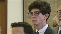 VIDEO: Labrie started crying as the verdicts were read by the jury in the nine charges brought by a fellow student at St. Pauls School in New Hampshire.