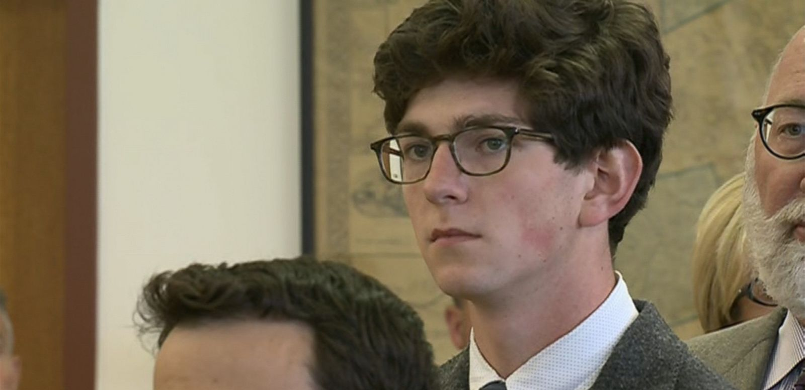 VIDEO: Labrie started crying as the verdicts were read by the jury in the nine charges brought by a fellow student at St. Paul's School in New Hampshire.