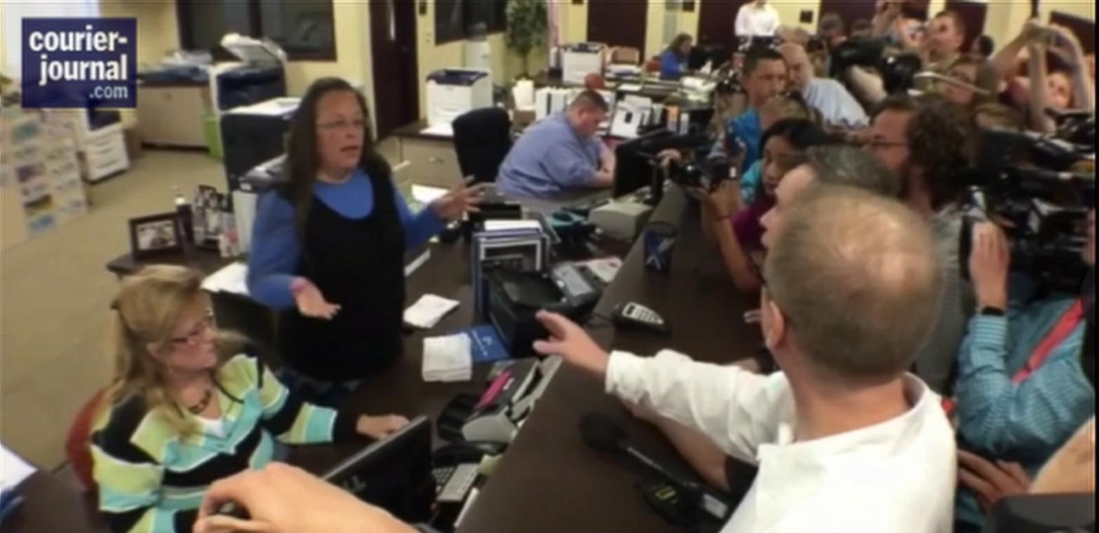 VIDEO: A judge has already denied Rowan County Clerk Kim Davis' appeal against issuing marriage licenses to same-sex couples.