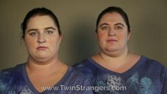 VIDEO: Identical-looking strangers Jennifer, 33, and Ambra, 23, found one another on the website Twin Strangers.