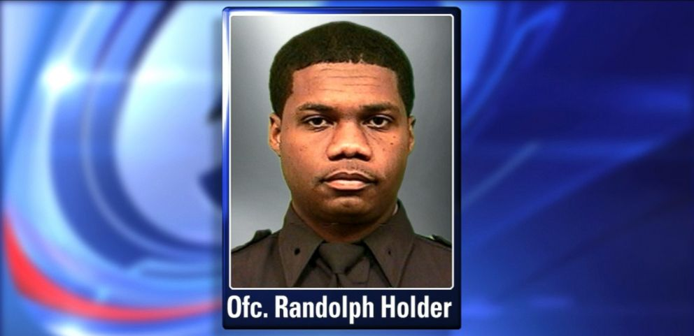 VIDEO: Officer Randolph Holder, 33, was responding to a report of a shooting in East Harlem.