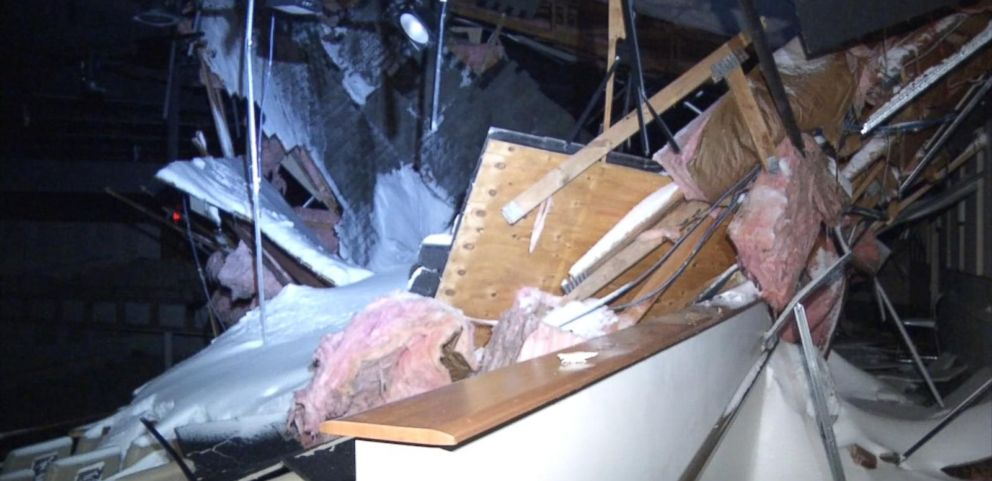 VIDEO: Heavy Snow Collapses Pennsylvania Churchs Roof