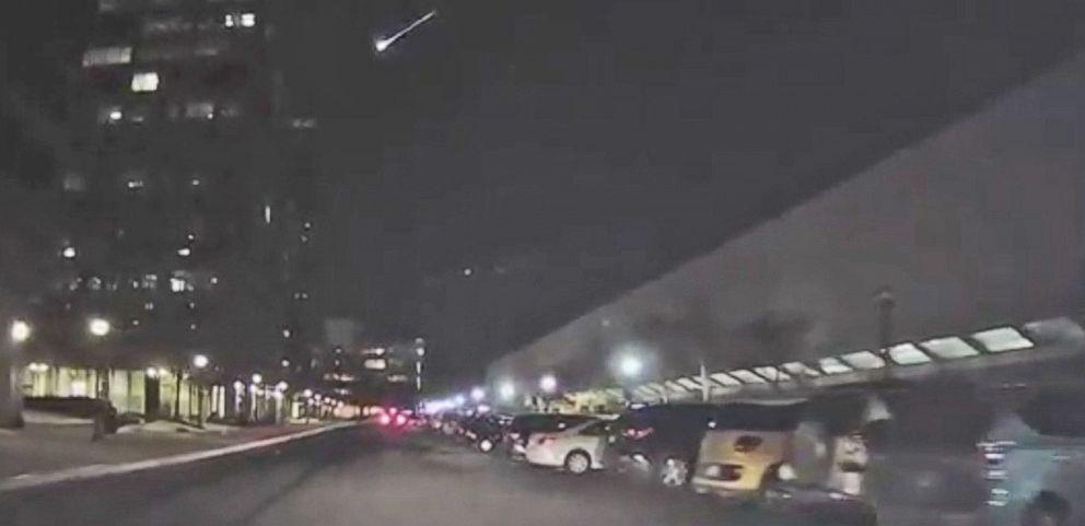 VIDEO: Fireball Meteor Caught on Camera in Virginia and Ohio