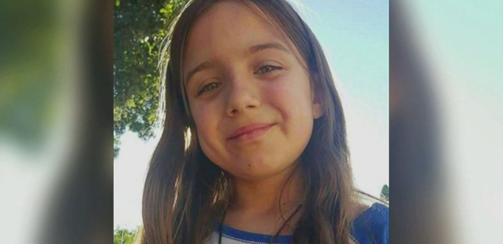VIDEO: Kiera Larsen, 10, pushed her young friends Emmah and Addison Jenkins out of an SUVs path before it fatally struck her.