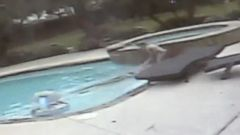 VIDEO: Tracy Anderwald was swimming in a relatives pool when she suffered a seizure.