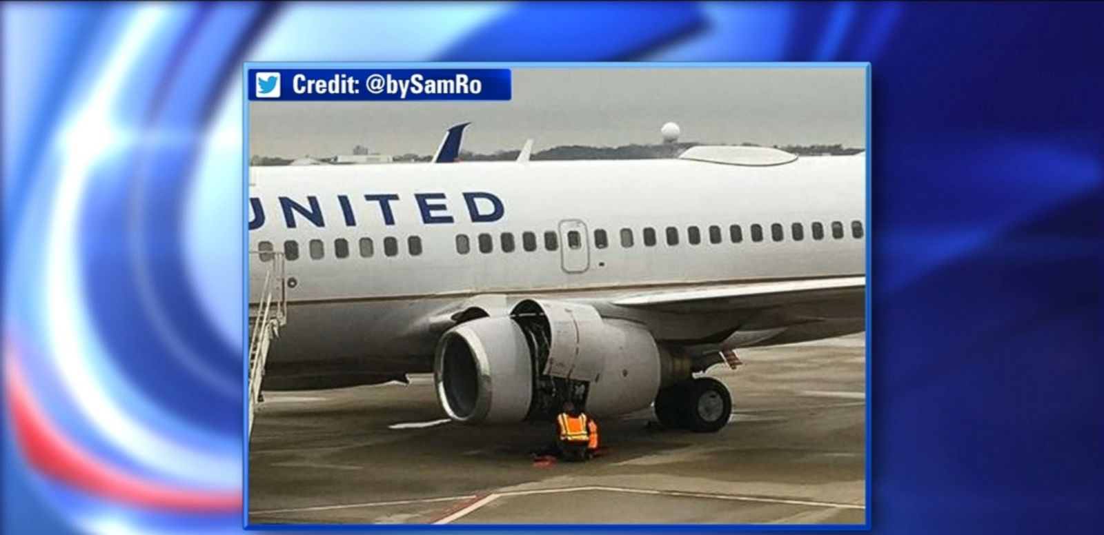 United Airlines Flight Makes Emergency Landing in