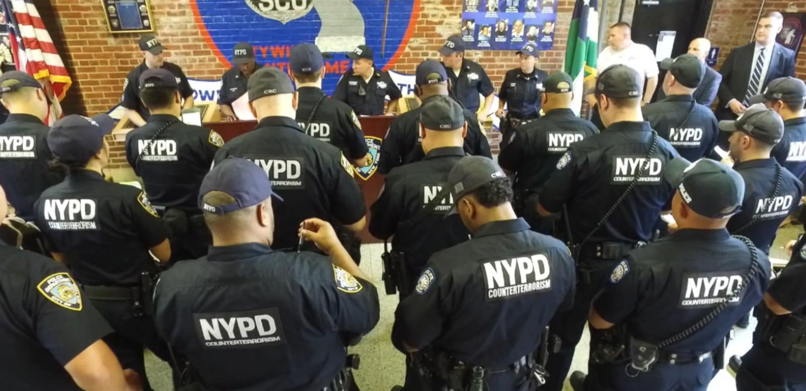 VIDEO: Inside the NYPD's Counterterror Squad