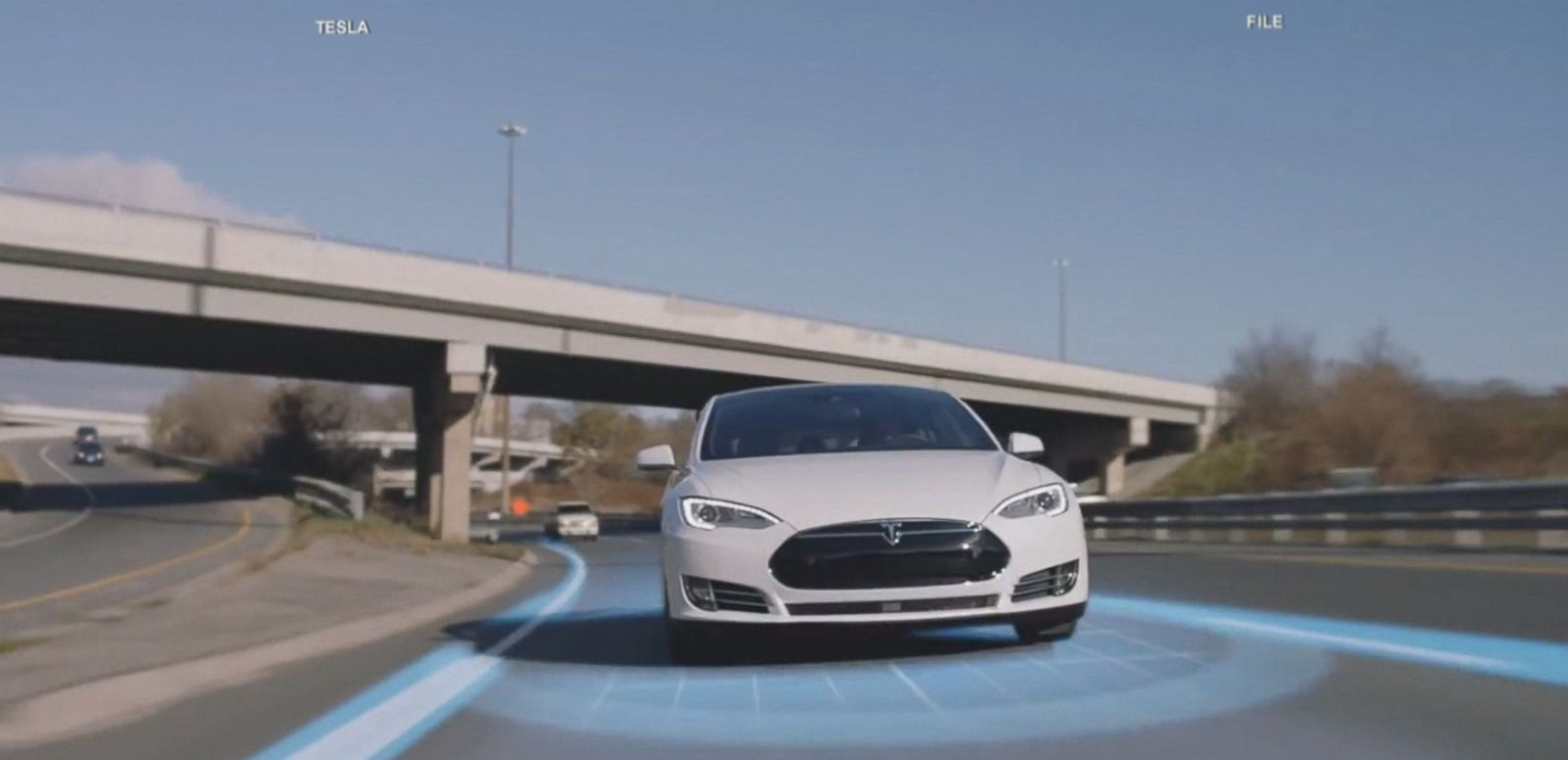 VIDEO: The Tesla driver was on a divided highway using autopilot when a tractor-trailer drove across the highway perpendicular to the Model S, according to a statement released today by the company.