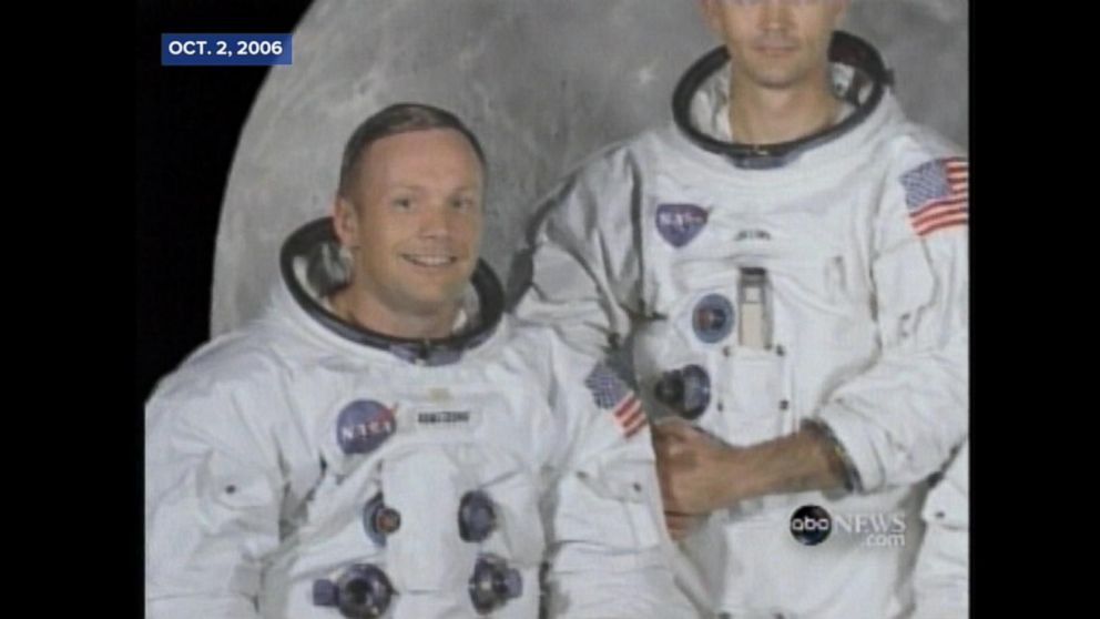 ARCHIVAL VIDEO: Neil Armstrong: Did He Say, 'One Small Step for Man