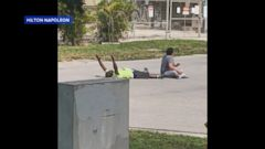 VIDEO: An unarmed black man was shot by police while attempting to help a suicidal man with autism in North Miami, Florida, officials said.