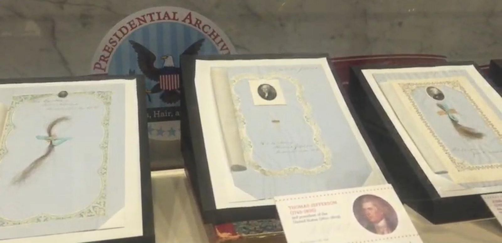 VIDEO: This Philadelphia Museum Is Dedicated to Presidents' Hair