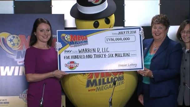 VIDEO: A couple from Hamilton County, Indiana, with two children has come forward and been confirmed as the winners of the $536 million jackpot, Indiana's Hoosier Lottery officials announced at a news conference today.