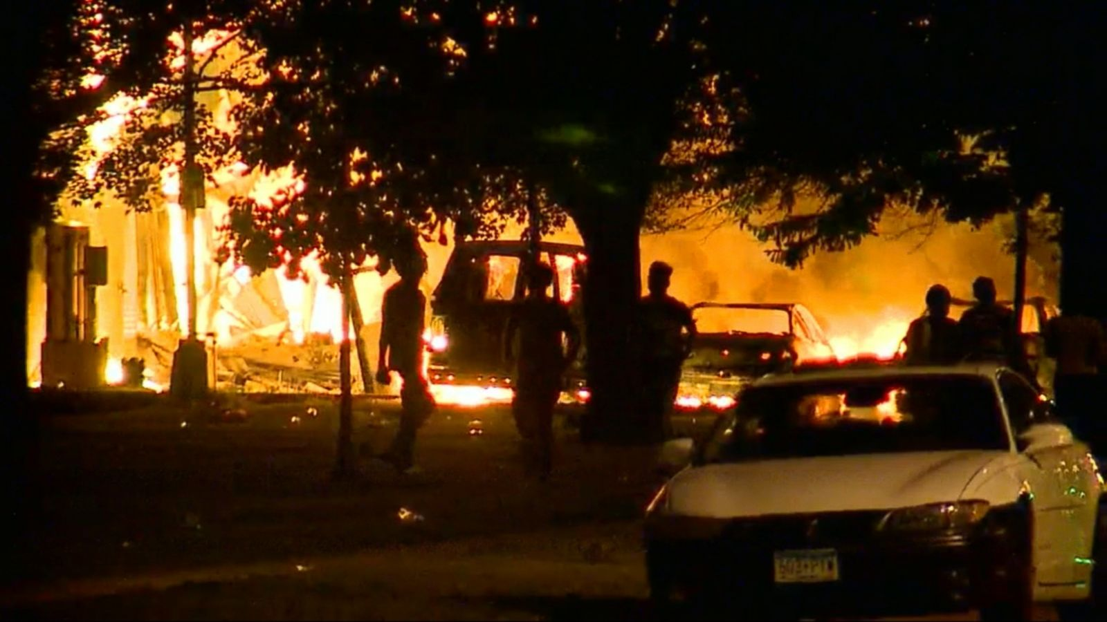 VIDEO: Milwaukee police say they are battling continued unrest early Monday morning, making multiple arrests and rushing one shooting victim and at least one officer to the hospital in the second night of violence following a fatal police shooting.