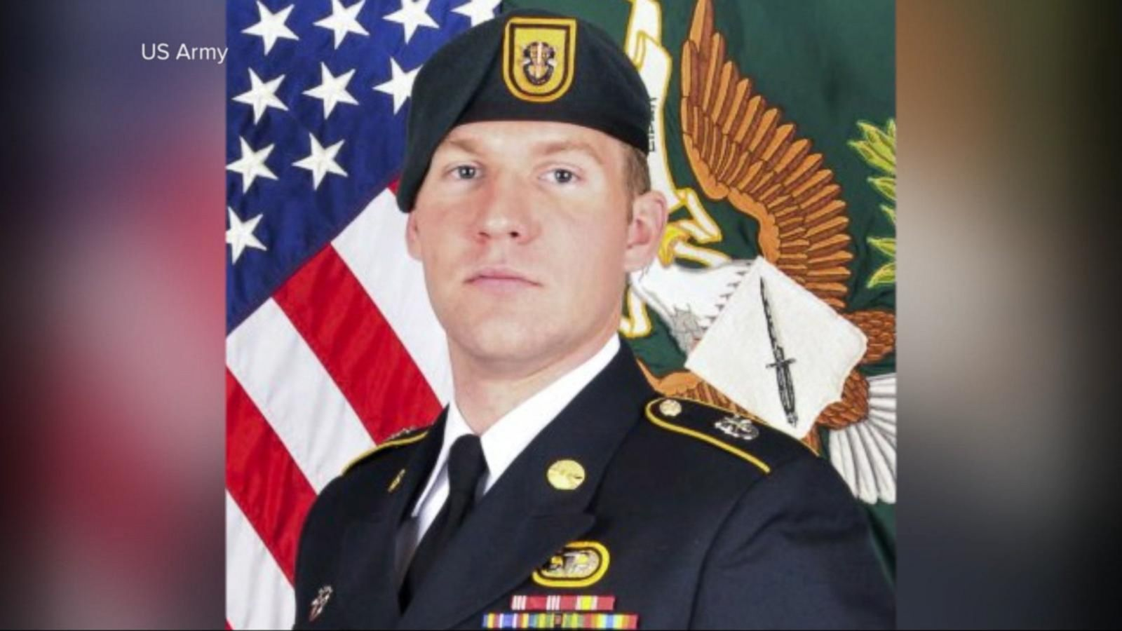Staff Sgt. Matthew V. Thompson was killed by a roadside bomb Tuesday.