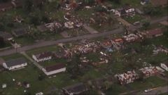 Multiple tornadoes struck central Indiana Wednesday -- damaging homes, leveling buildings and piling cars on top of one another like toys.